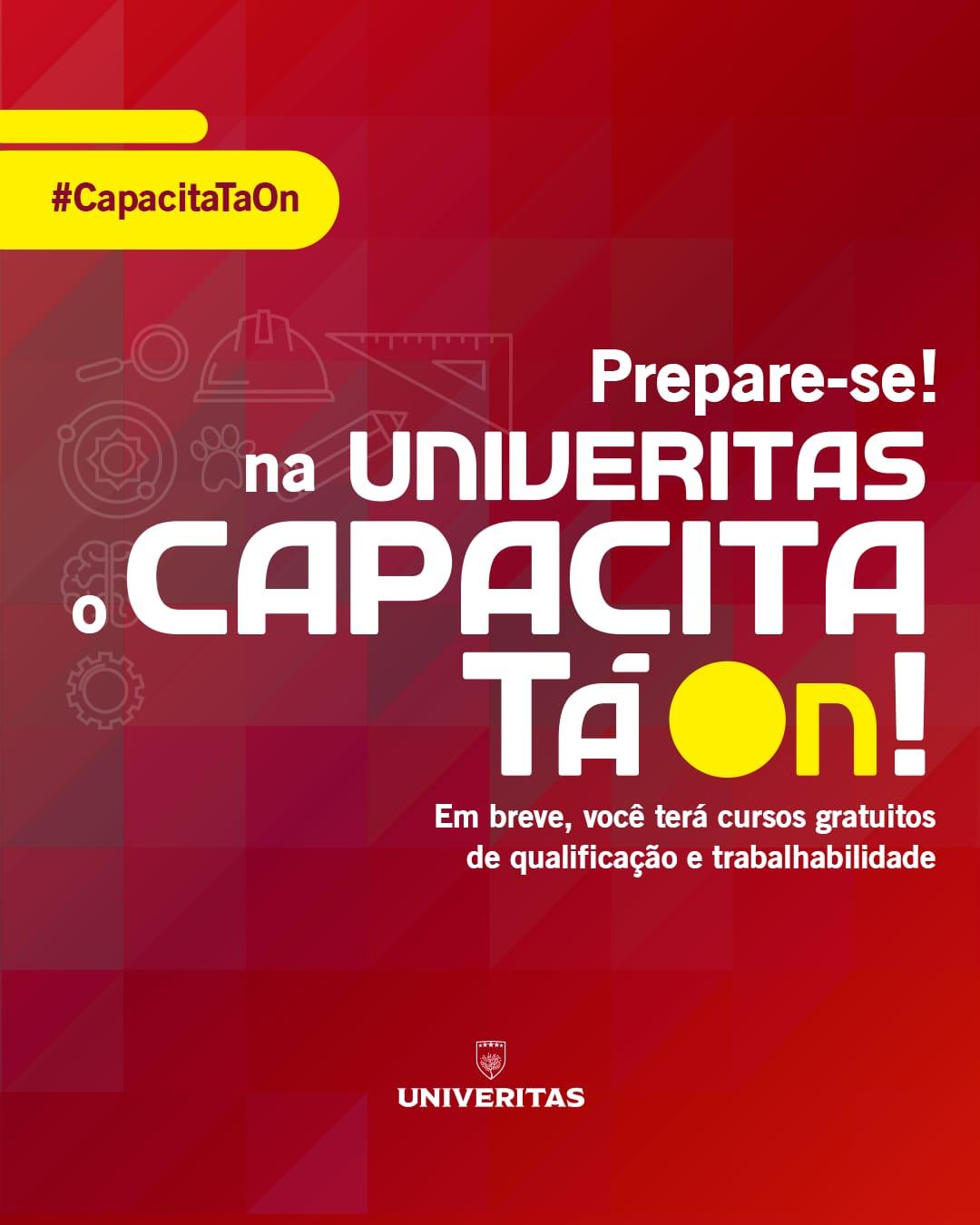 Imagem de um banner da Univeritas