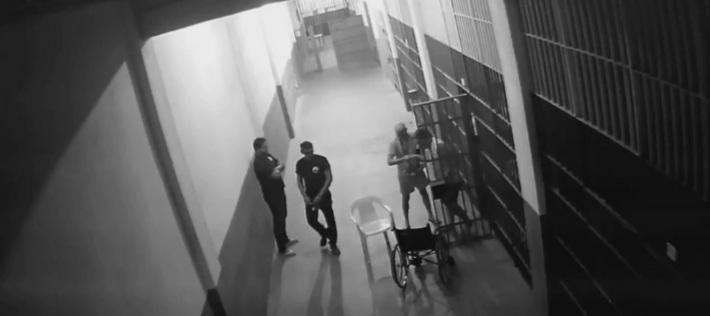 Imagem de Anthony Garotinho na penitenciária