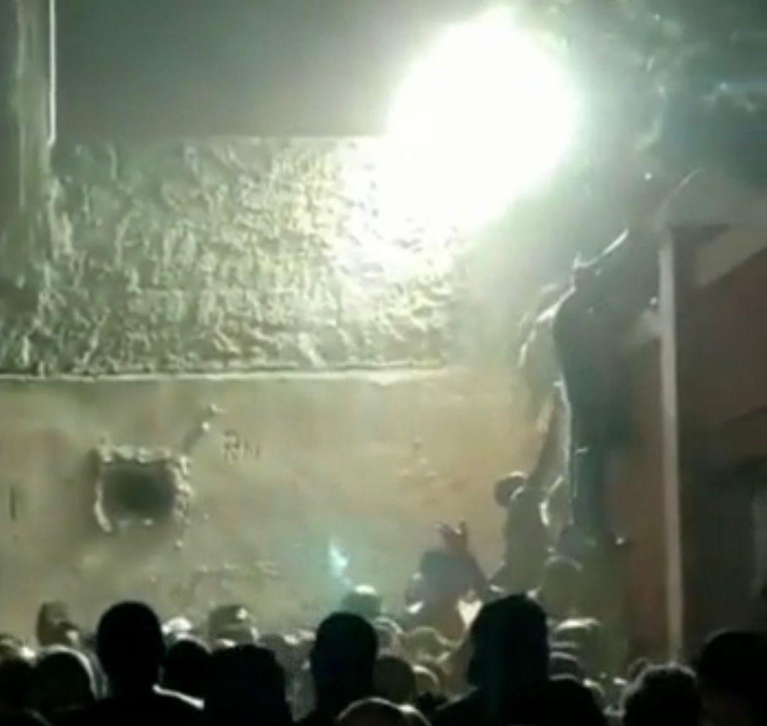 Briga em baile funk no Morro do Urubu