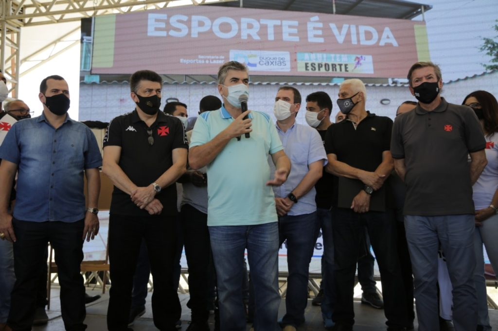 Acordo entre a Prefeitura de Caxias e Club de Regatas Vasco da Gama
