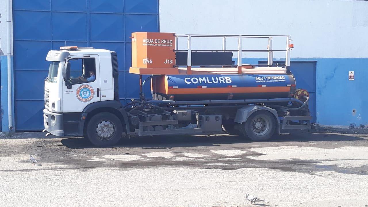 Caminhão da Comlurb