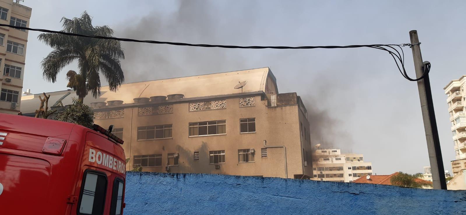 Incêndio Igreja Santa Ediviges