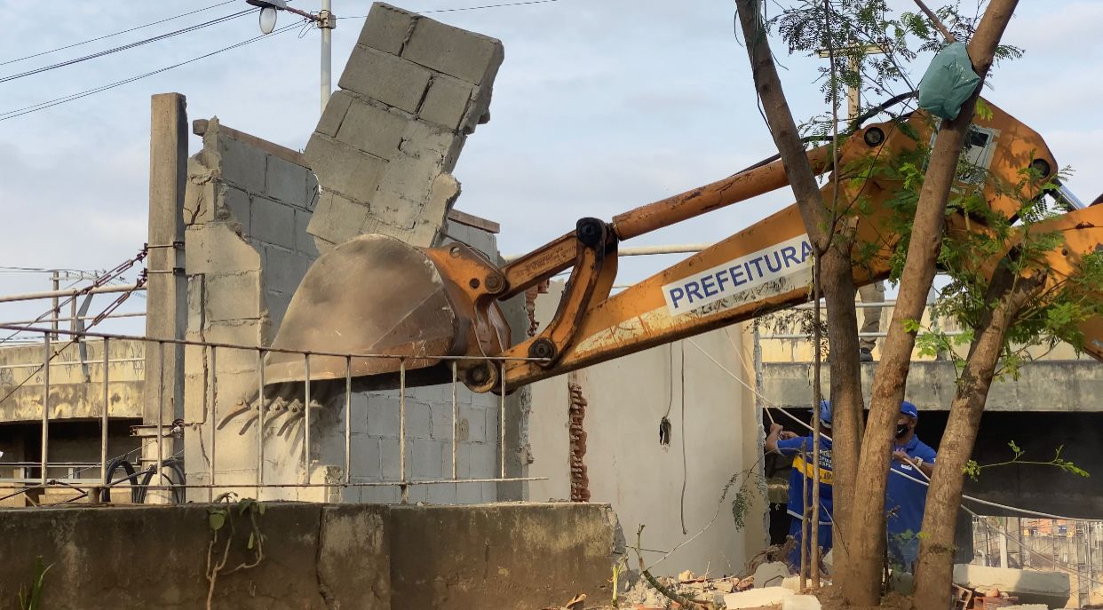 Construção Irregular na Zona Oeste