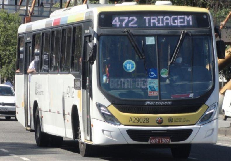 Ônibus do Consórcio Intersul