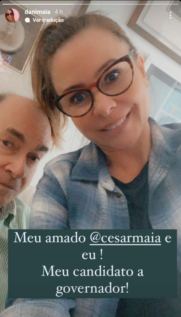 Cesar e Daniela Maia