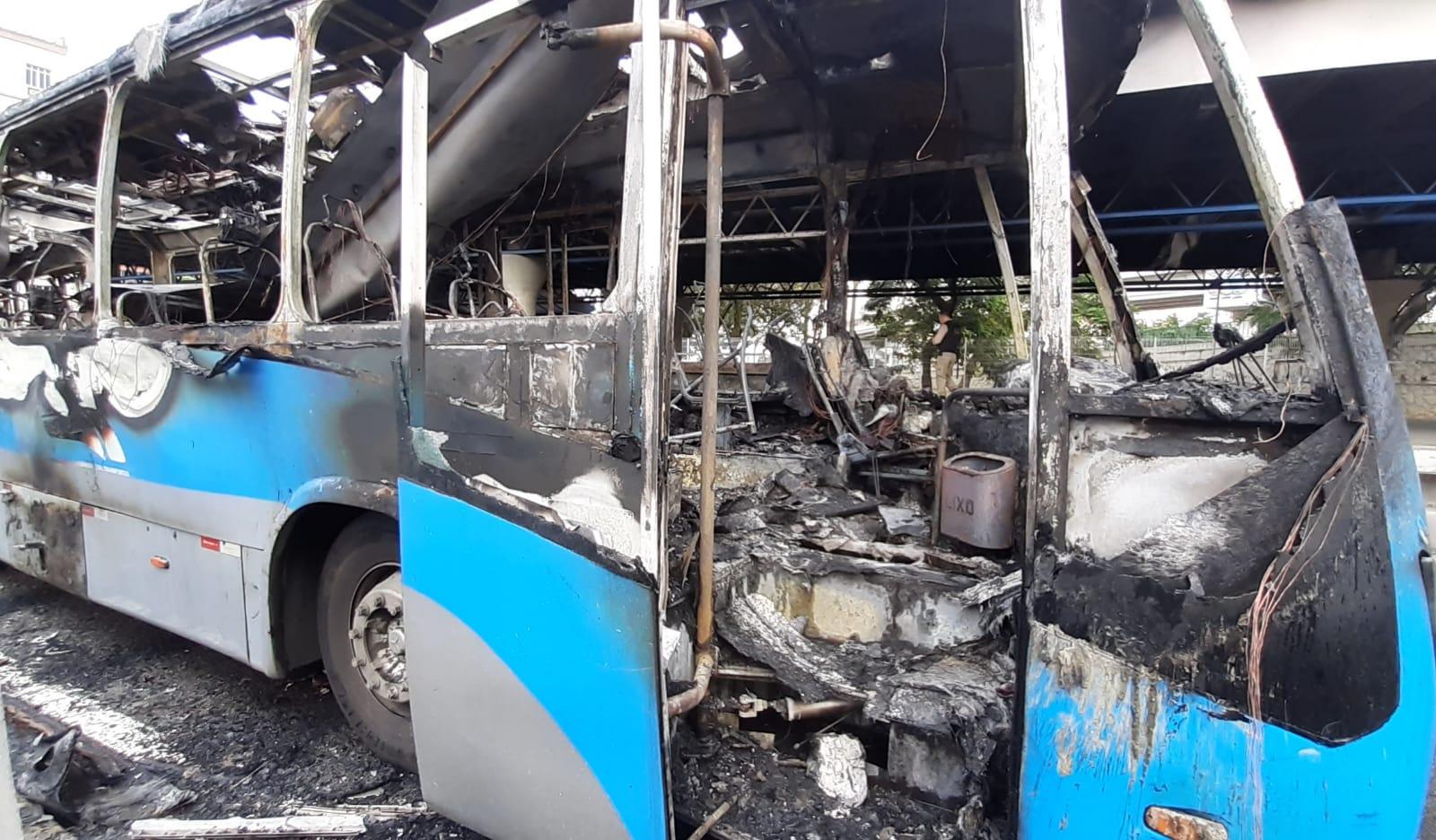 BRT pega fogo