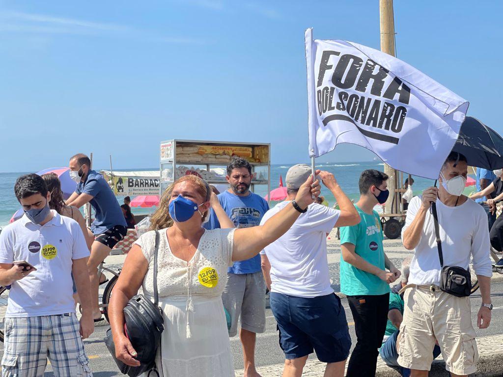 manifestação contra o bolsonaro
