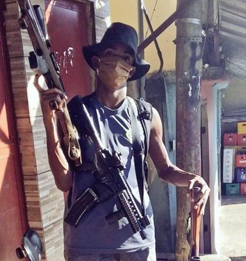 Anderson PQD é preso pela Polícia Militar na Penha