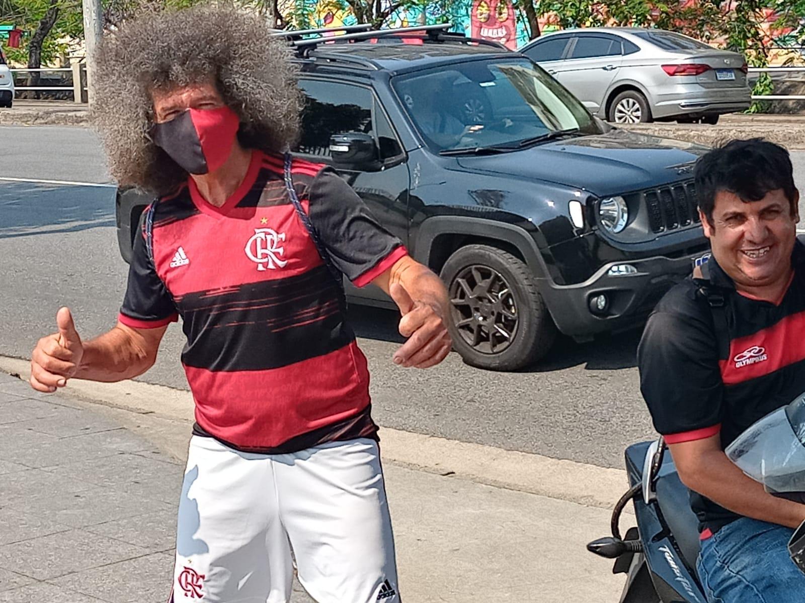 Entorno do Maracanã para o jogo entre Flamengo e Grêmio