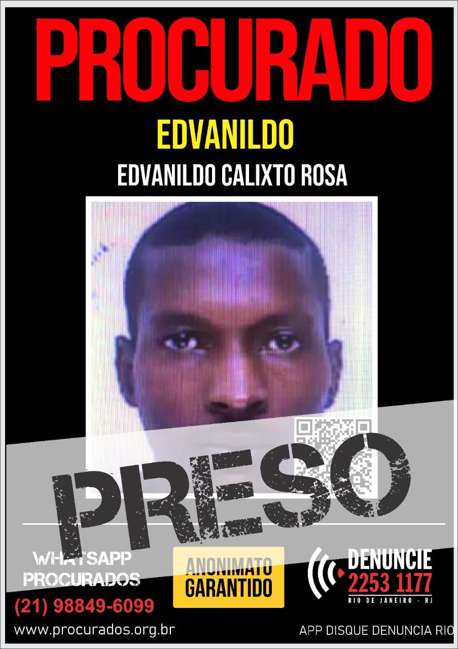 Imagem de um foragido da justiça no cartaz dos procurados