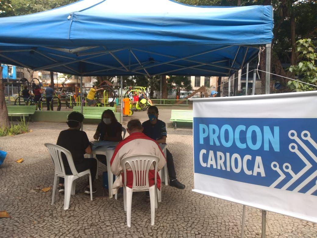 imagem do atendimento do Procon Carioca