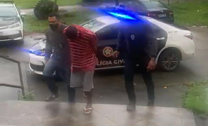 Criminoso conhecido como Chapoquinha preso pela Polícia Civil