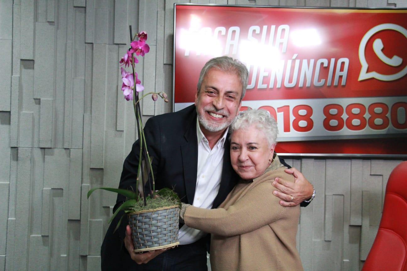Clóvis Monteiro no programa Cidinha Livre
