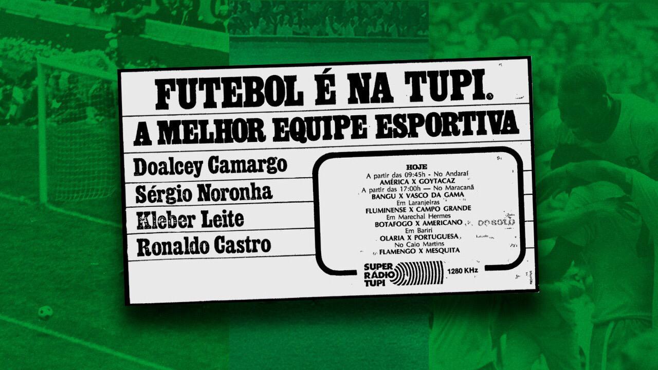 Futebol é na Tupi