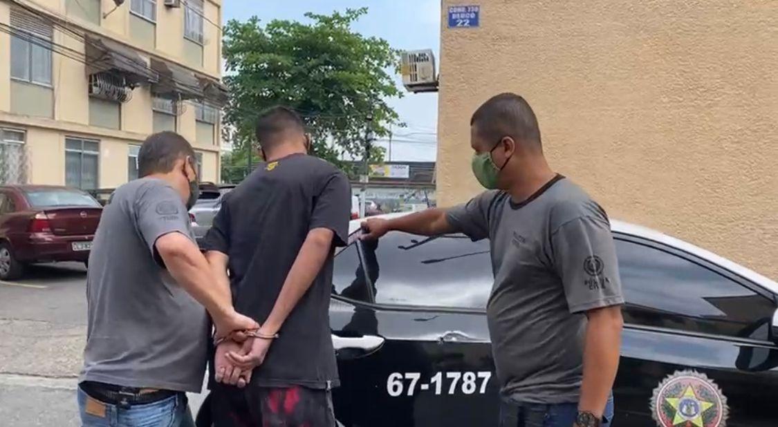 Traficante foi preso em casa, em Irajá, na Zona Norte do Rio