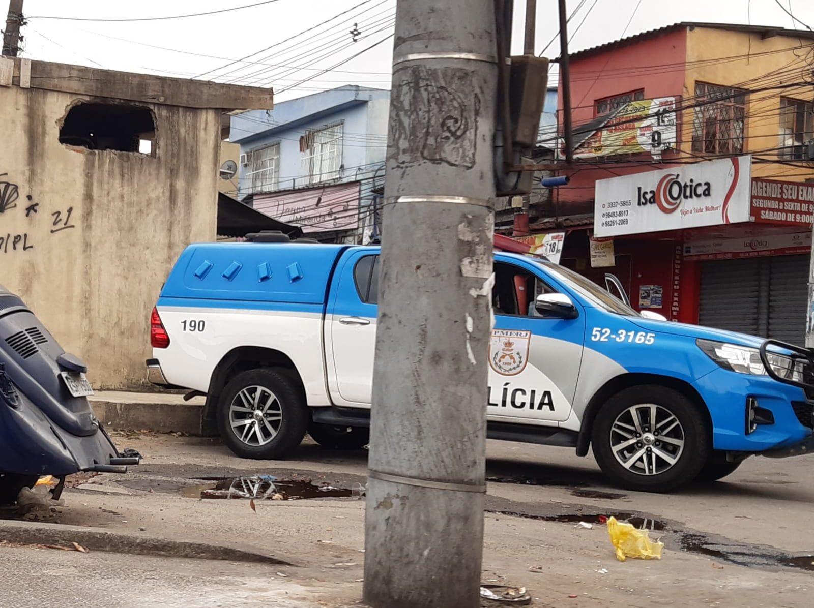 PMERJ realiza operação na comunidade do Batan