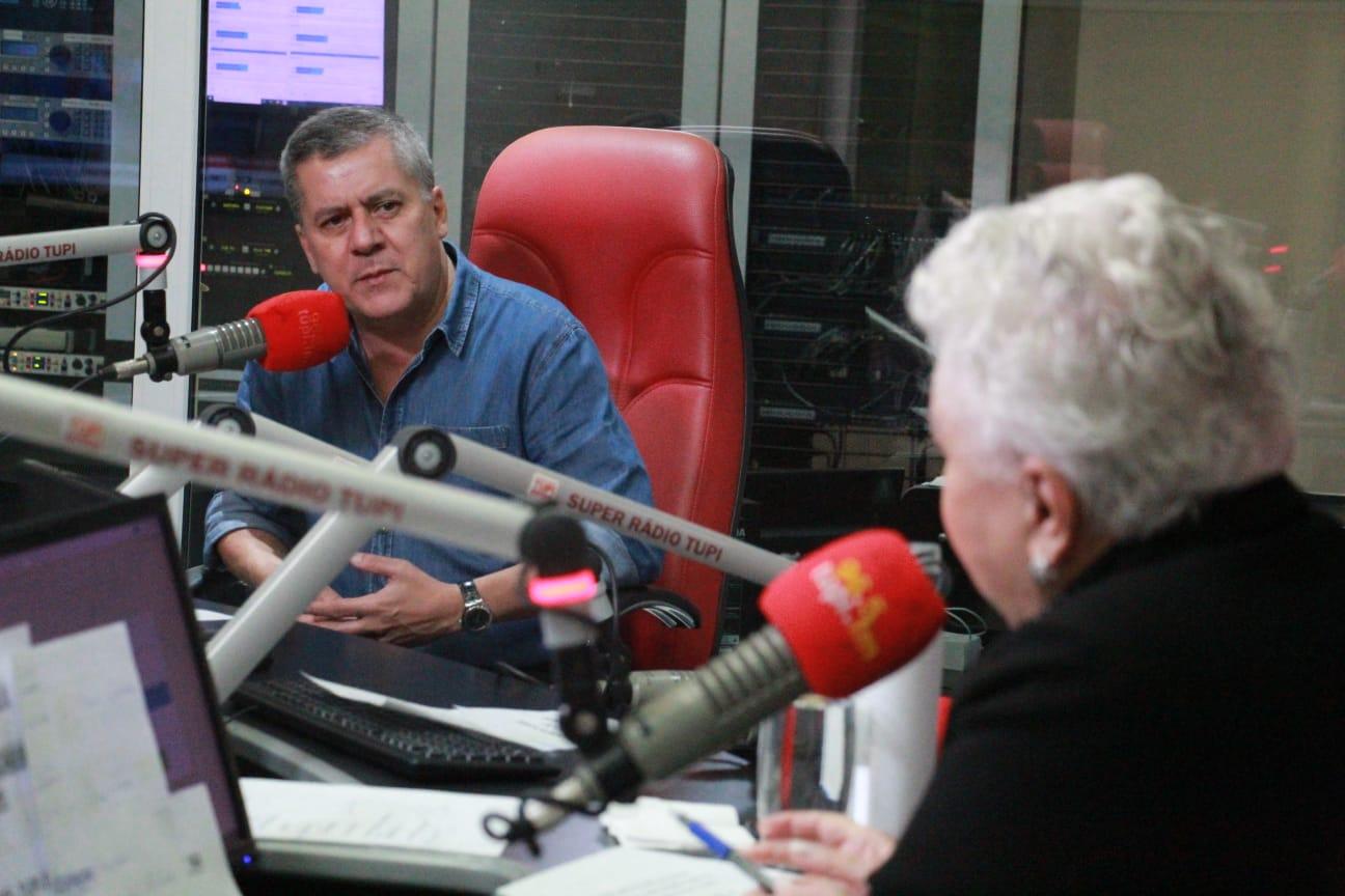 Marcos Di Giacomo no programa Cidinha Livre