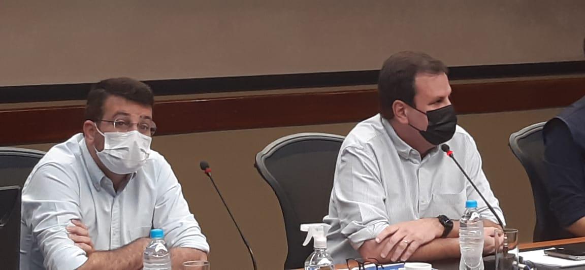 Eduardo Paes e Daniel Soranz