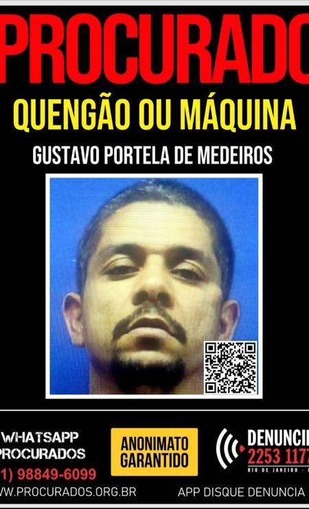 Portal dos Procurados divulgou cartaz para ajudar nas investigações