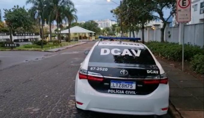 Imagem de uma viatura da Polícia Civil