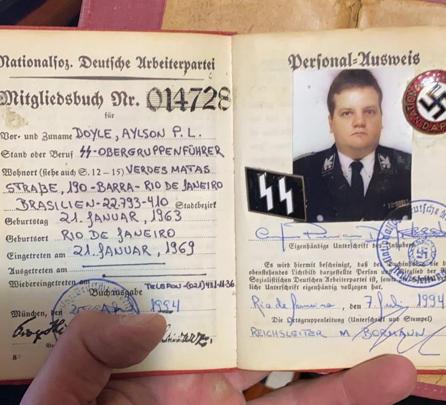 Estuprador é preso e polícia encontra material nazista