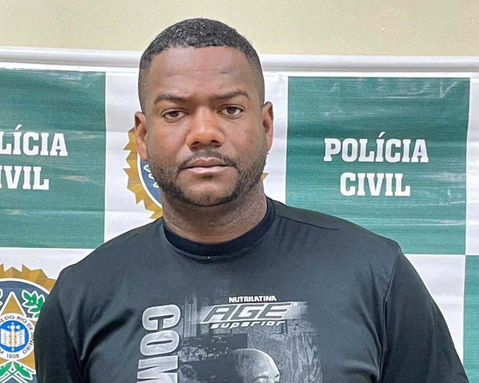 Jadson Souza líder de comunidade na Bahia preso na Cidade de Deus