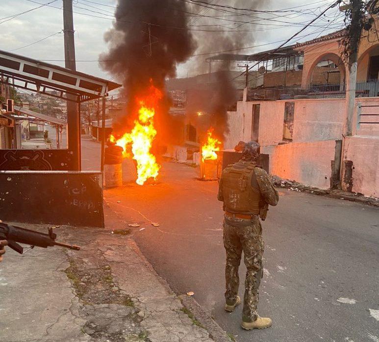Operação da Polícia Militar na Zona Norte do Rio