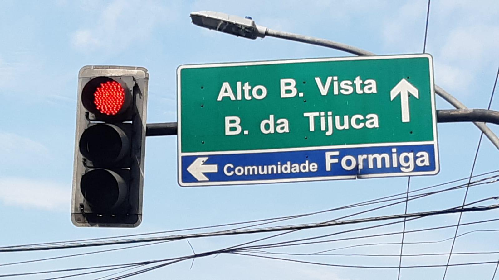 Morro da Formiga, na Tijuca