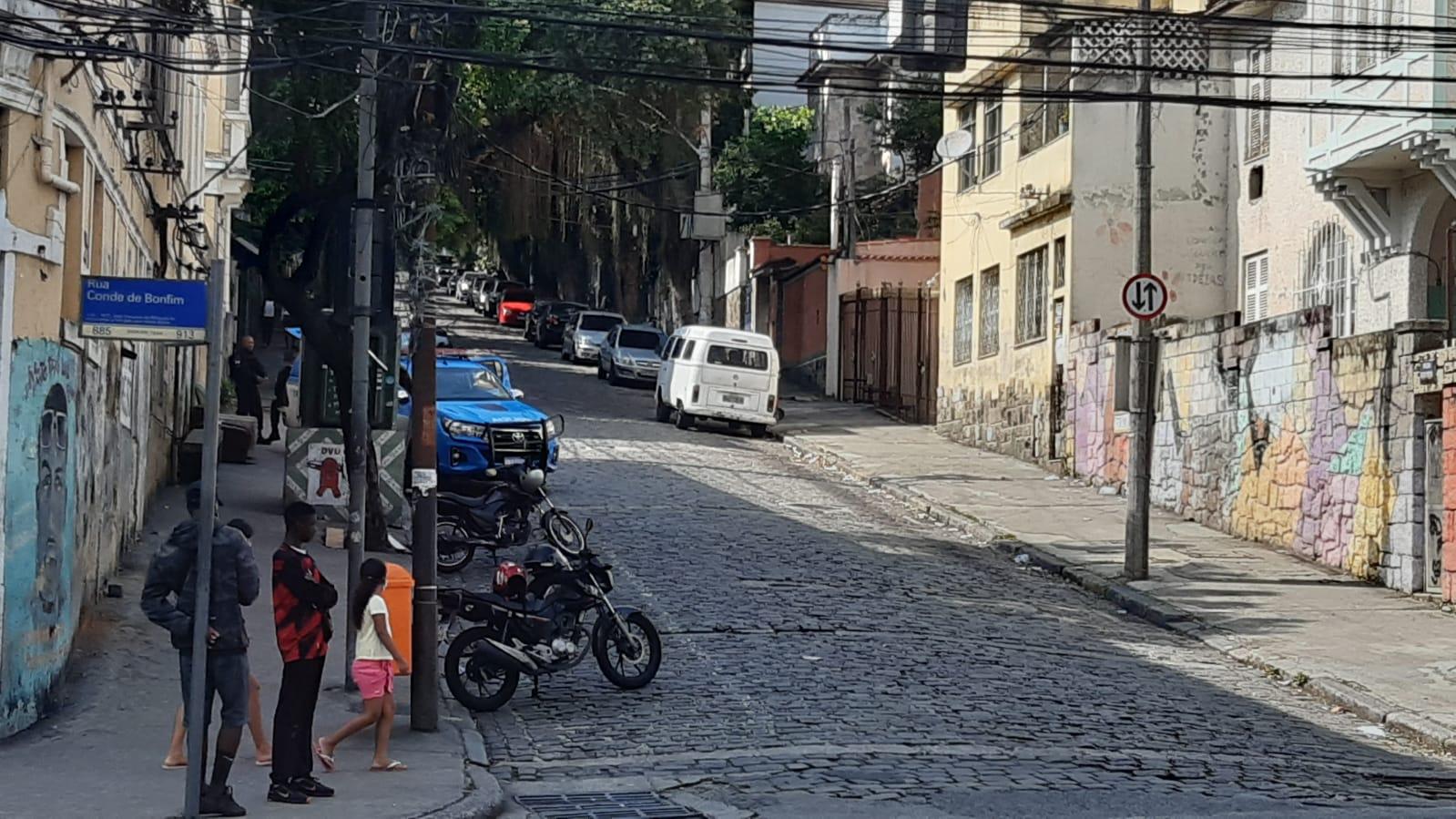 Um dos acessos ao morro da Formiga, na Tijuca