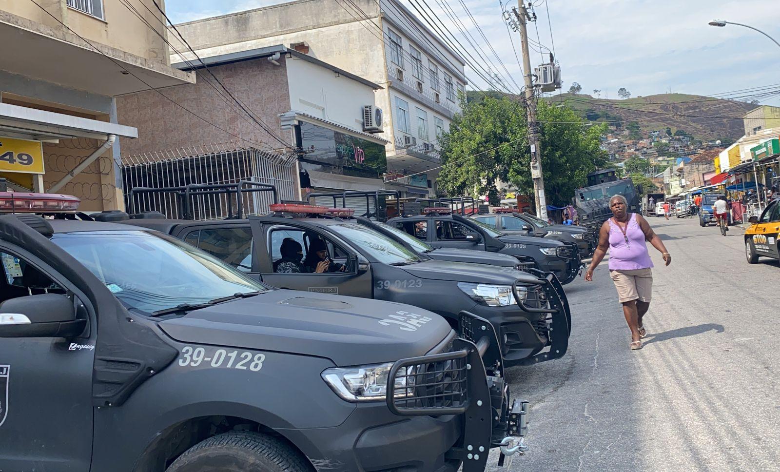 Polícia Militar atua nos Morros do Juramento e Juramentinho