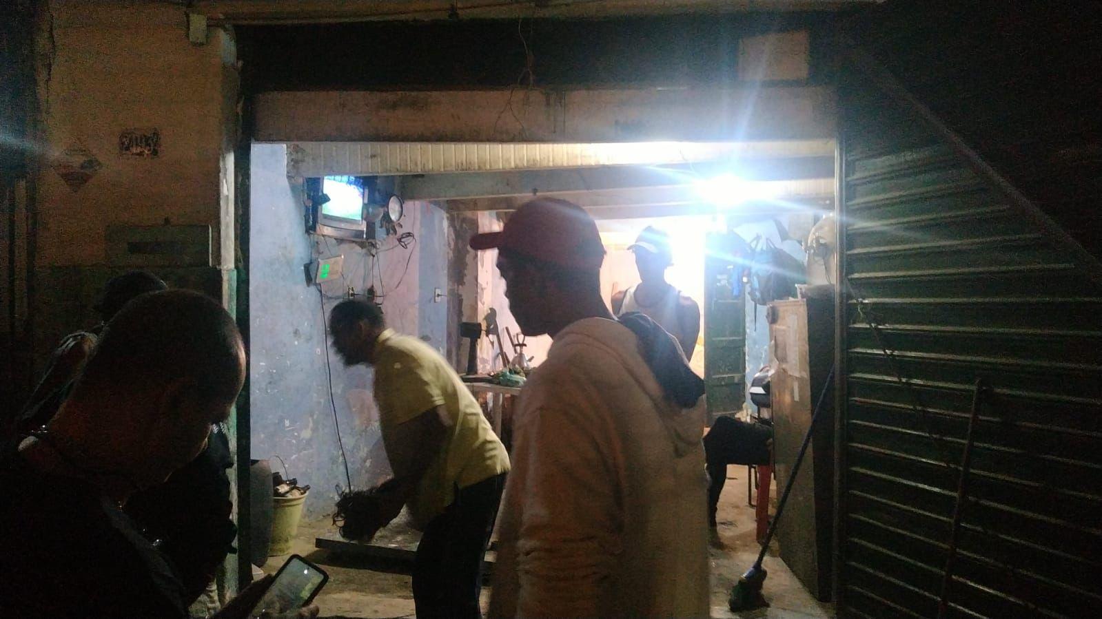 Operação contra roubo e furtos em ferro-velho