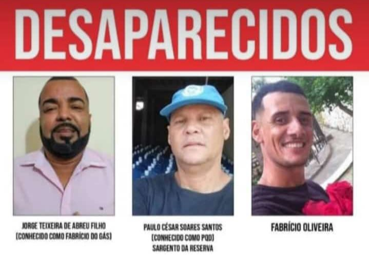 Desaparecidos em Itaguaí