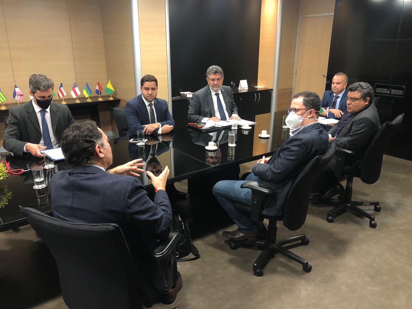 Imagem de uma reunião