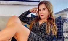 Zilu Camargo chora por ter foto com lingerie derrubada