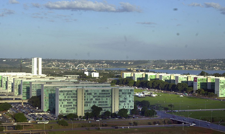 imagem dos prédios do planalto