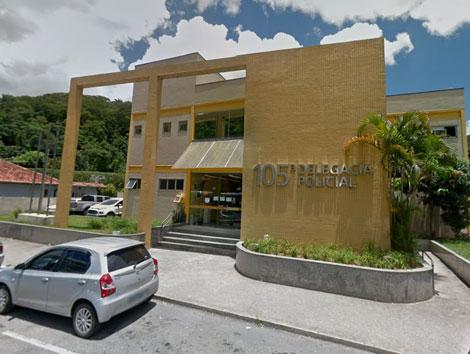 Imagem da delegacia de Petrópolis
