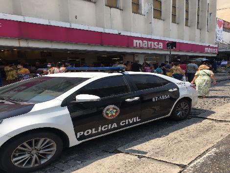 Imagem de uma viatura policial