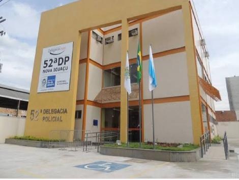 Imagem da fachada da delegacia de Nova Iguaçu
