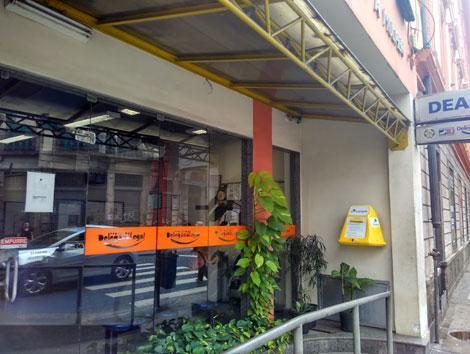 Imagem da fachada da Delegacia de Atendimento à Mulher
