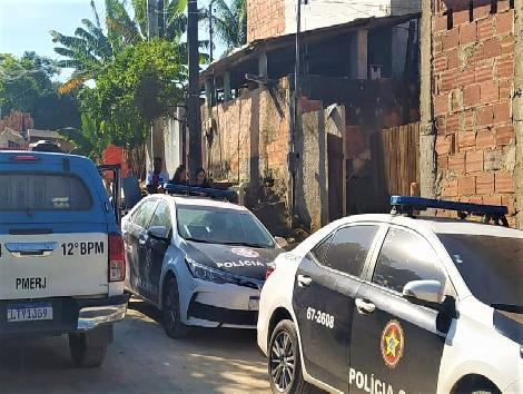 Imagem de viaturas da polícia