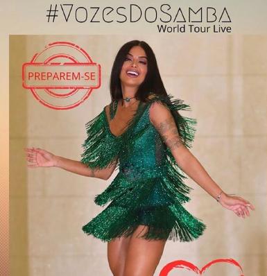 Aline Riscado Vozes do Samba