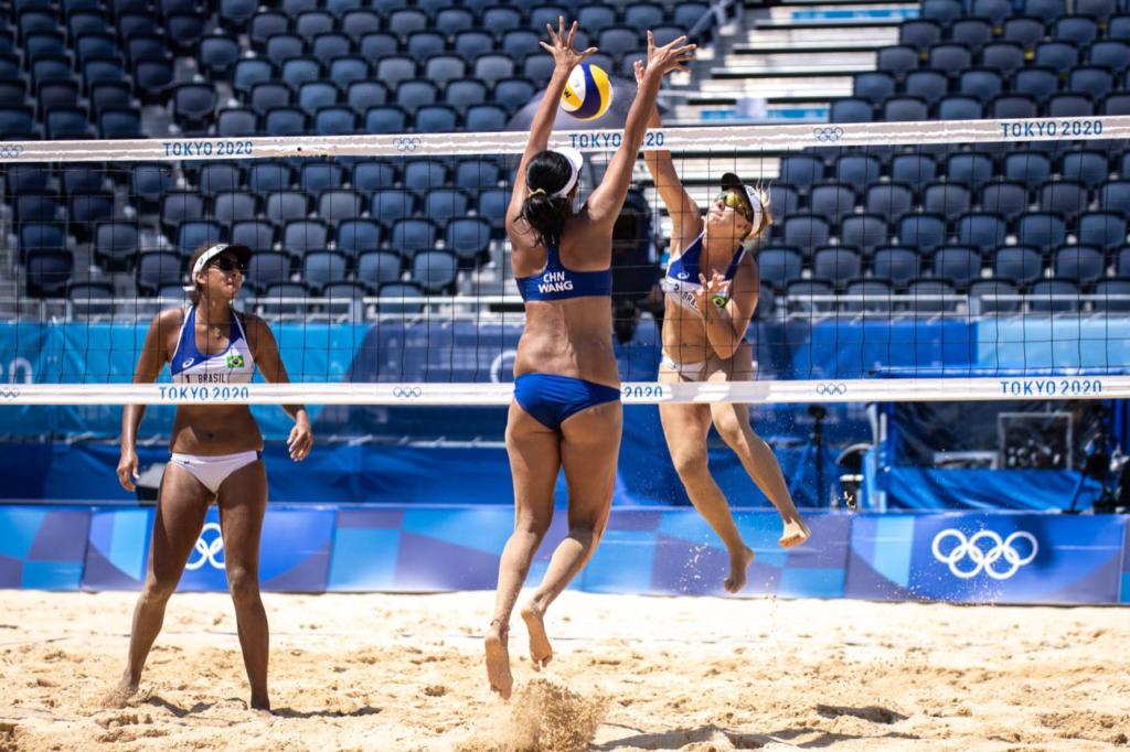 Brasileiras avançam para as quartas de final