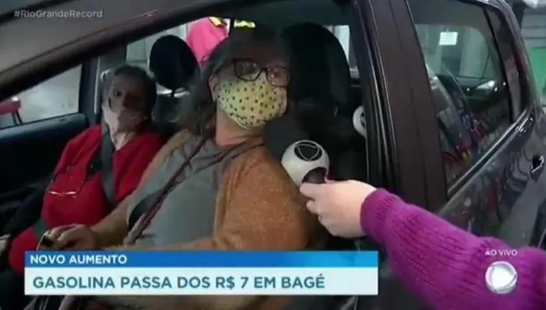 Entrevistada pede impeachment de Jair Bolsonaro ao vivo na Record