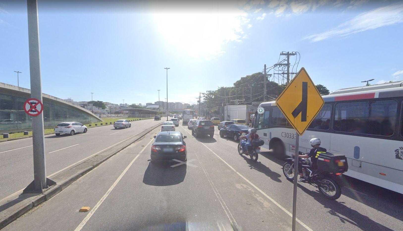 Avenida Armando Lombardi, Barra da Tijuca, Zona Oeste do Rio (Divulgação: Google Maps)