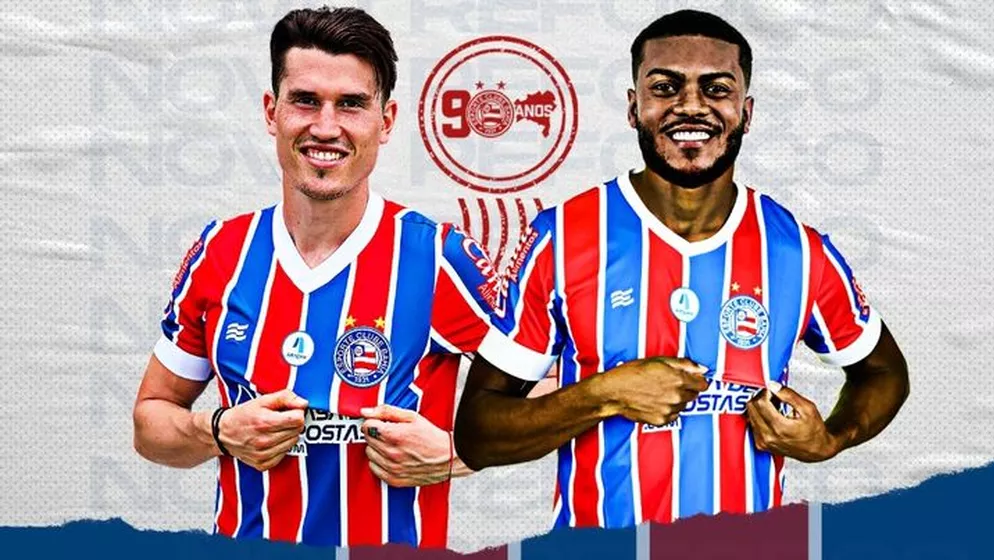 Bahia anuncia a chegada dos atacantes Marcelo Cirino e Isnaldo