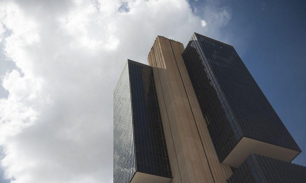 Fachada da sede do Banco Central em Brasília