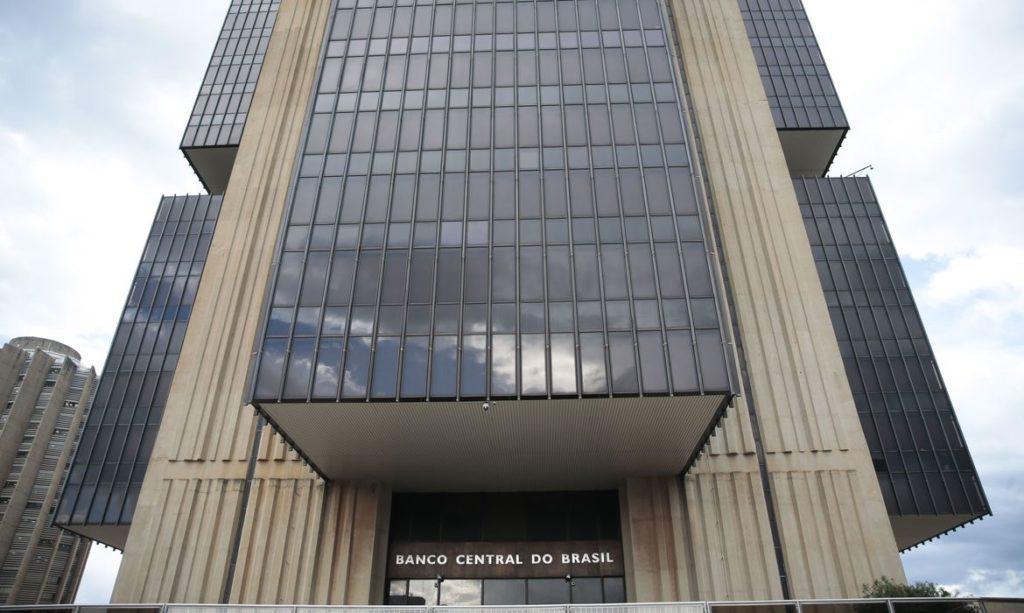 Fachada do Banco Central em Brasília