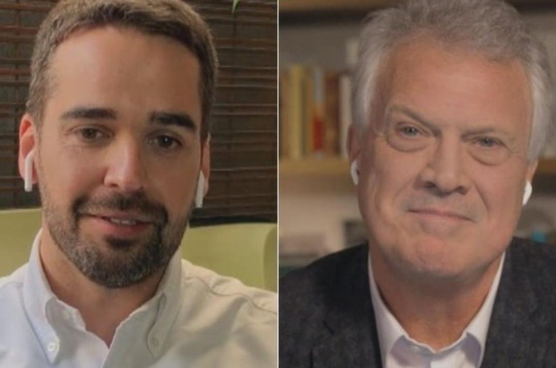 Eduardo Leite e Pedro Bial