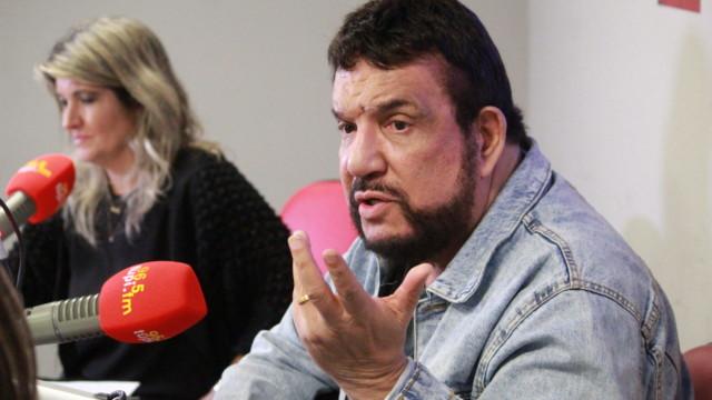 Michael Sullivan e Márcia Pinho no De Frente Com Elas (Foto: Talita Giudice/ Divulgação: Super Rádio Tupi)