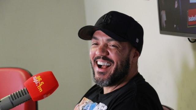 Belo em entrevista para a Super Rádio Tupi
